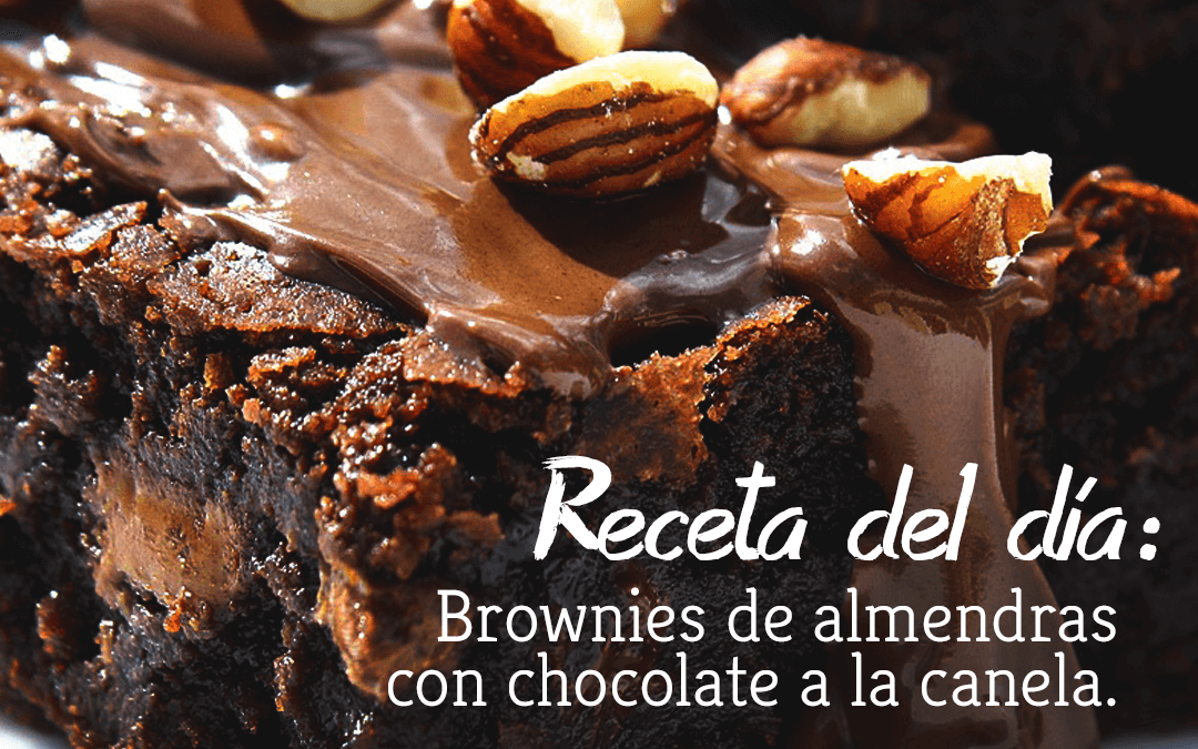 Brownies de almendras