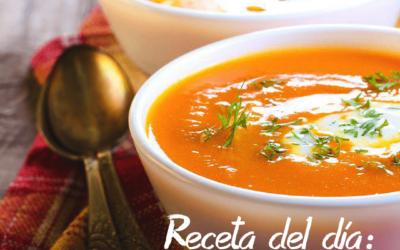 Sopa de Zanahoria y Comino